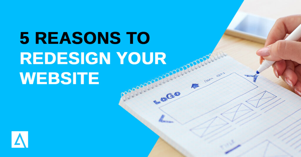 5 reasons to redesign your website